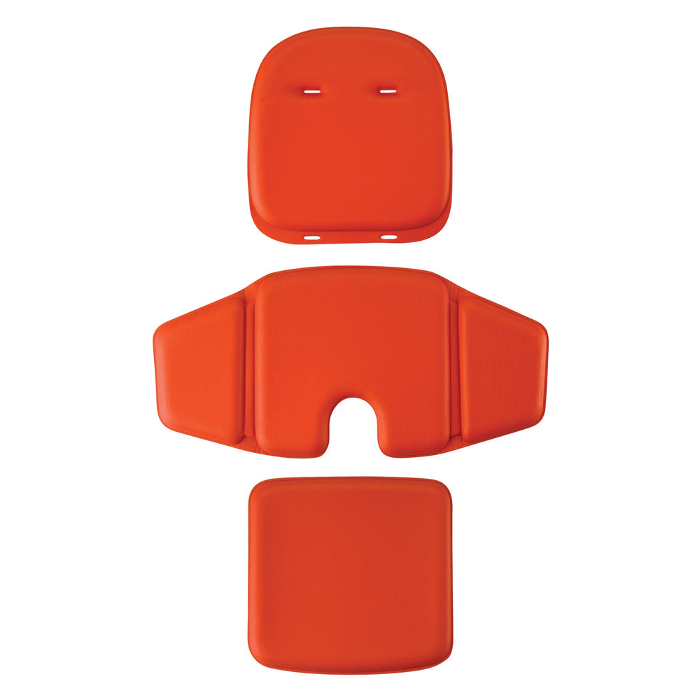 3 Piece Sprout Chair Cushion Set - Orange