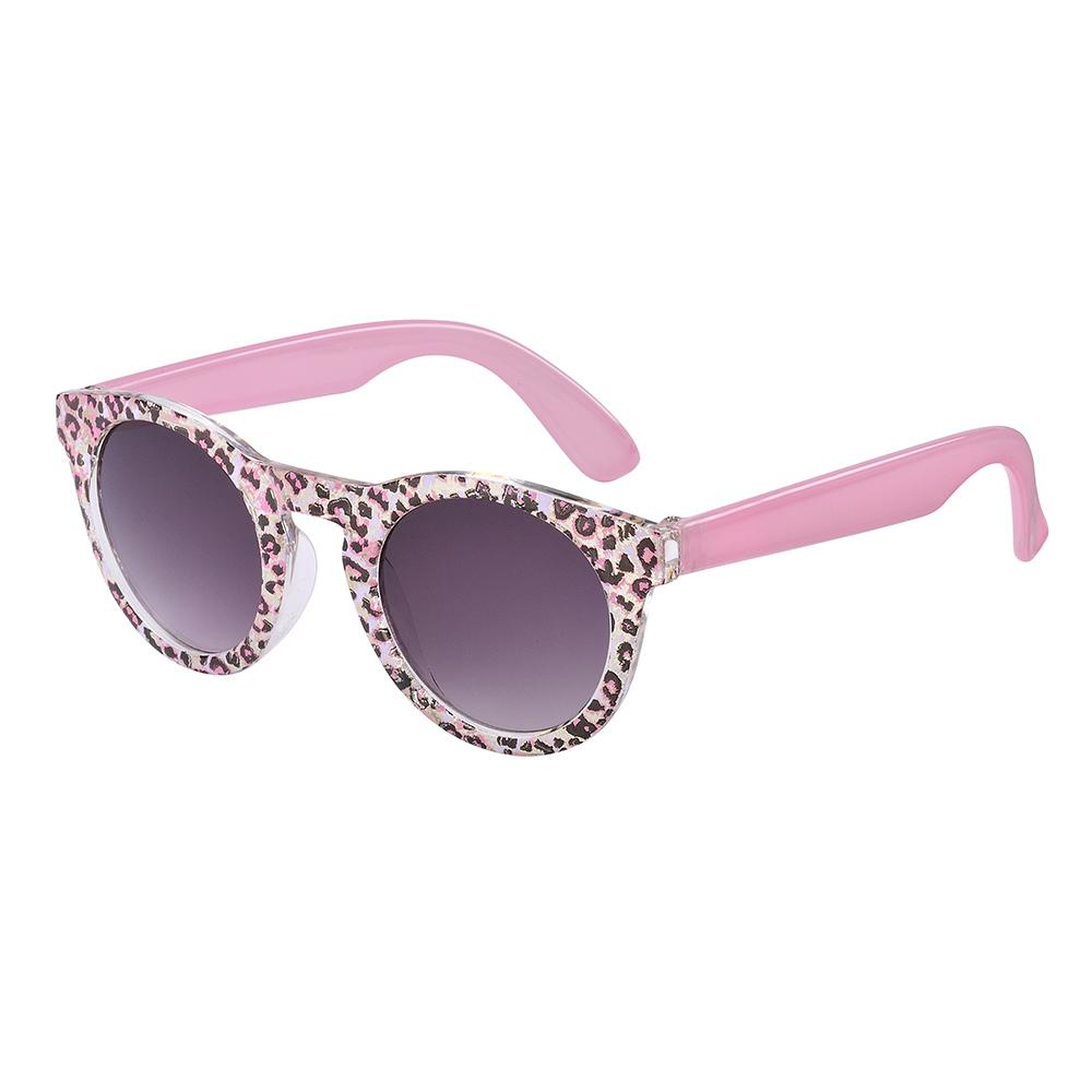 Frankie Ray - Candy Pink Leopard Toddler Sunglasses (Age 1-3yrs)