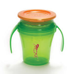 JUICY! WOW Baby Translucent Spill Free Training Cups - Green