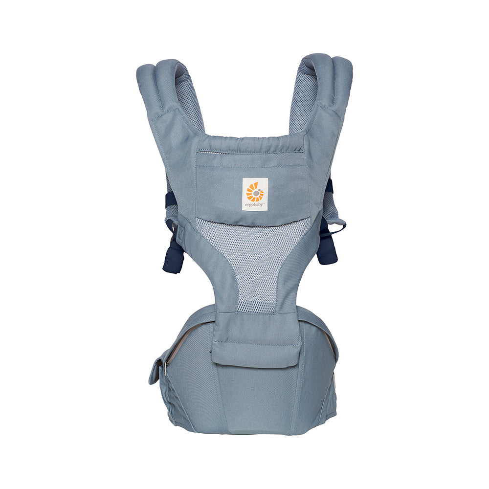 20b7001bc8a Ergobaby 6 Position Hipseat Carrier - Cool Air Mesh Oxford Blue – WOWMOM  Singapore