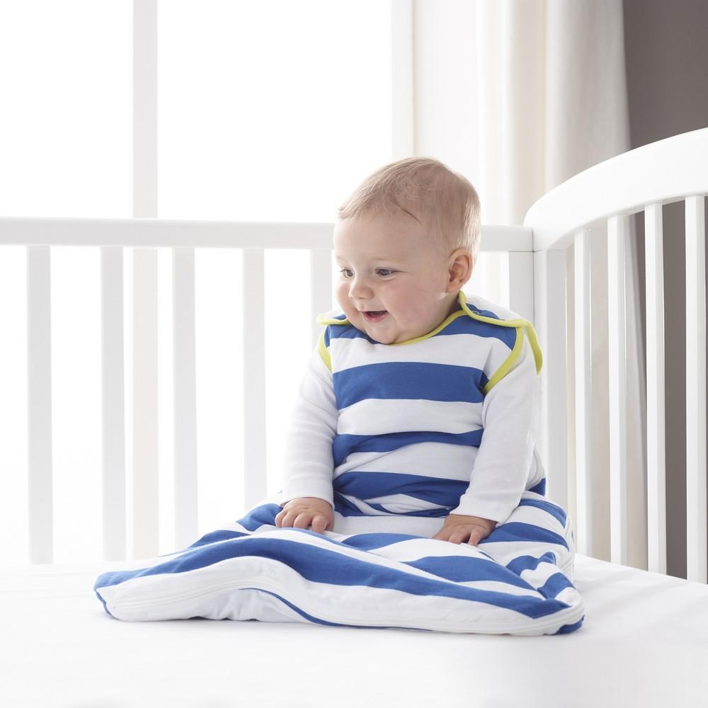 Grobag True Blue Stripes - 1.0 Tog - 0-6m