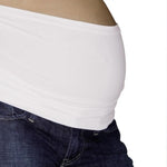 Bando Seamless Maternity Band - White - S-M
