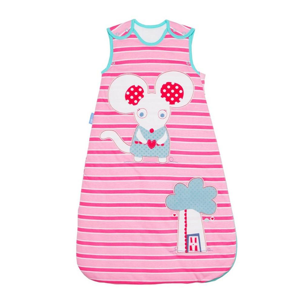 Grobag Little Mo Mouse - 1.0 Tog - 0-6m