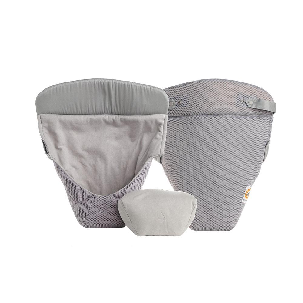 Ergobaby Easy Snug Infant Inserts - Cool Air Mesh - Grey