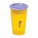 JUICY! WOW Cupa for Kids Translucent Spill Free Tumblers - Yellow