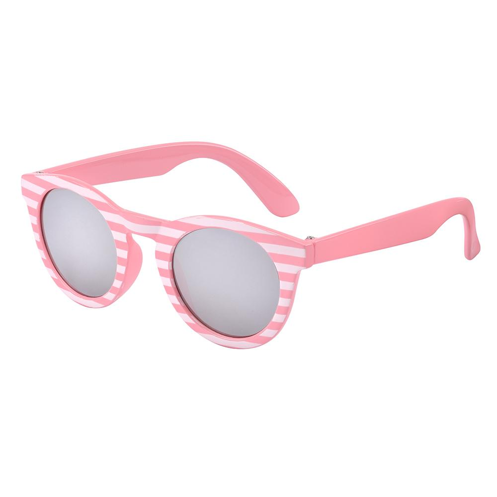 Frankie Ray - Pixie Pink Stripe Baby Sunglasses (Age 0-18m)