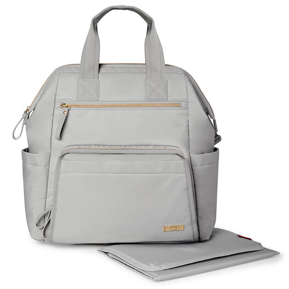 Main Frame Wide Open Backpack - Cement