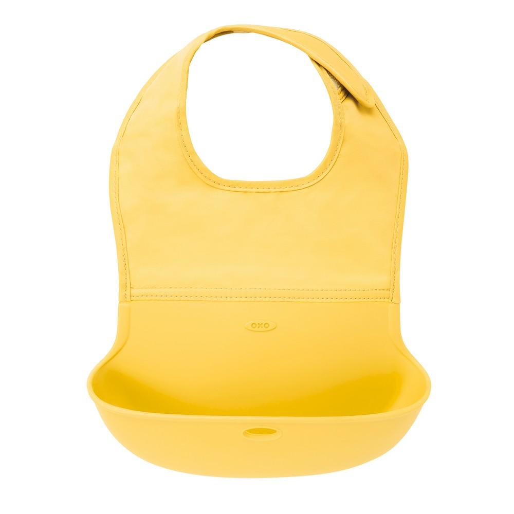 Roll Up Bib - Yellow