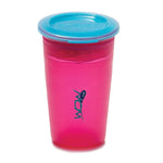 JUICY! WOW Cupa for Kids Translucent Spill Free Tumblers - Pink