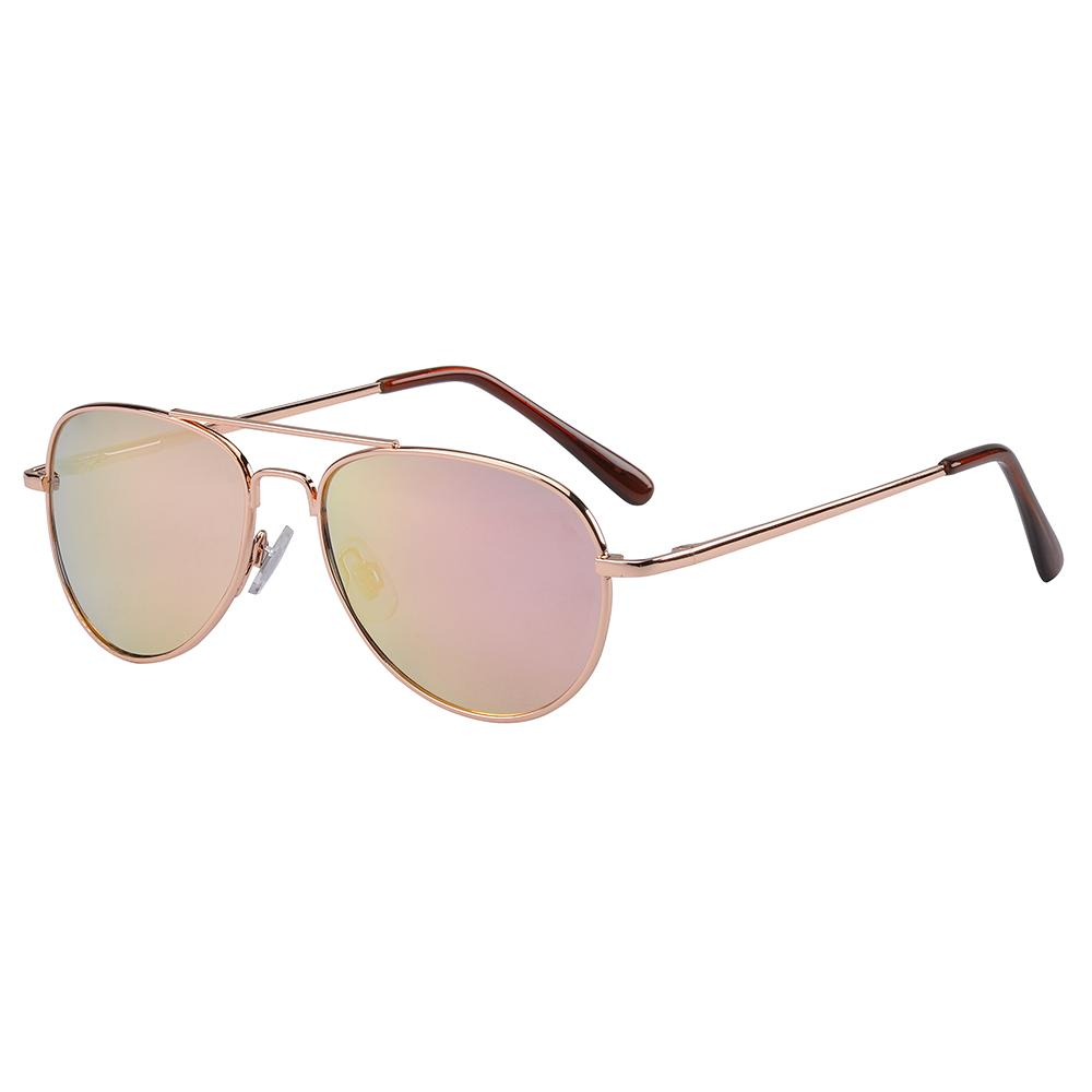 Frankie Ray - Jet Rose Gold Sunglasses (Age 3+)