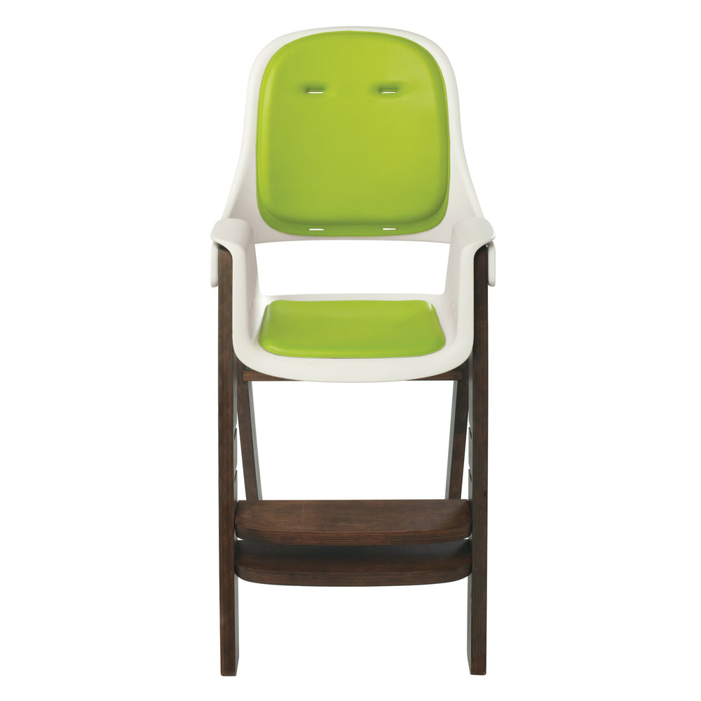 Sprout High Chair - Green/Walnut