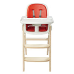 Sprout High Chair - Orange/Birch