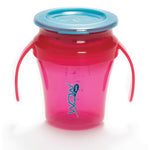 JUICY! WOW Baby Translucent Spill Free Training Cups - Pink