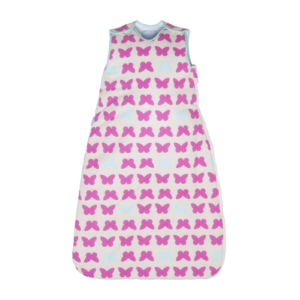 Simply Gro Grobag Butterflies Blue and Pink - 1.0 Tog - 0-6m