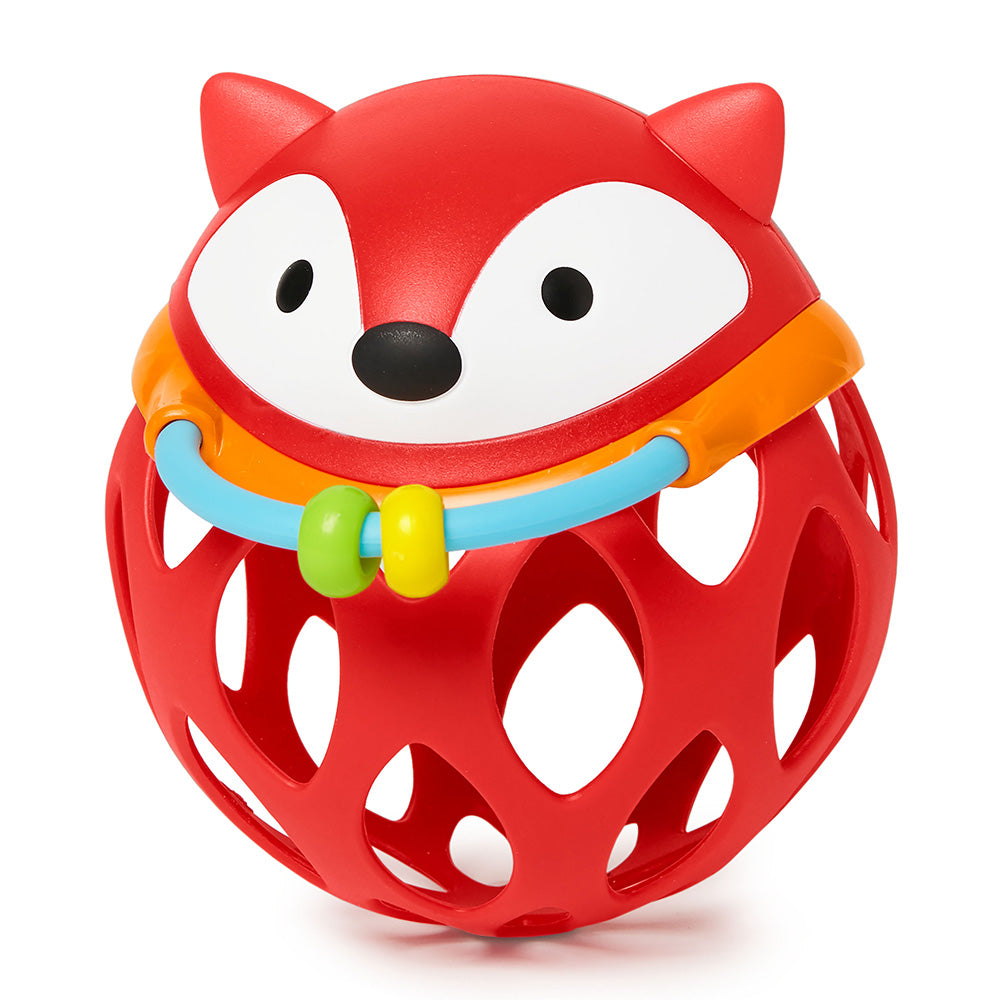 E&M Roll Around Rattle- Fox