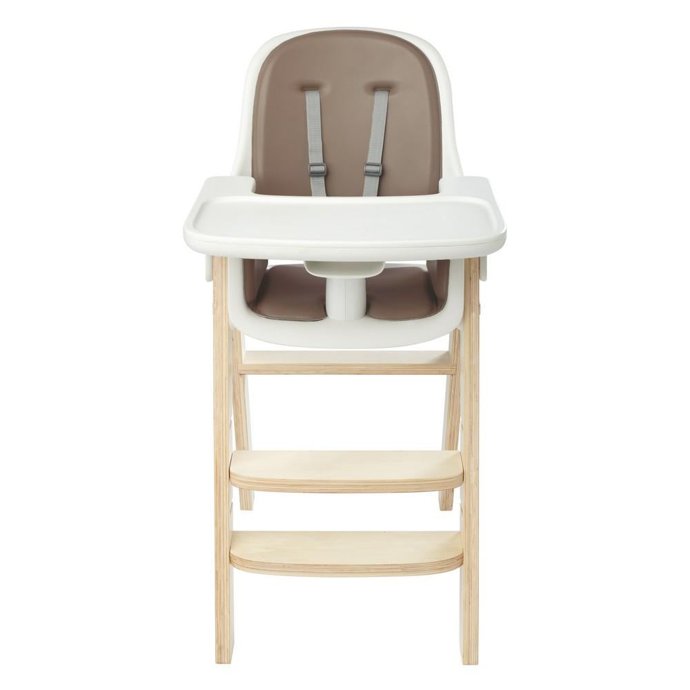 Sprout High Chair - Taupe/Birch