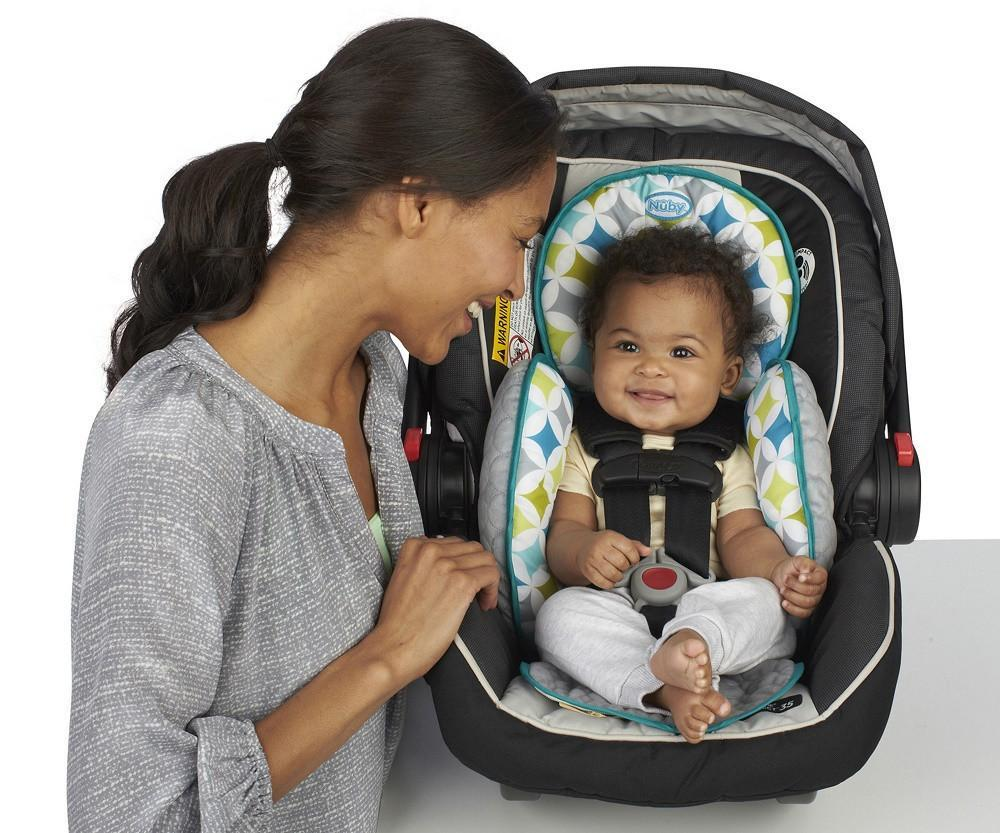 Nuby Travel - 2-in-1 Full Body Support & Seat Protector