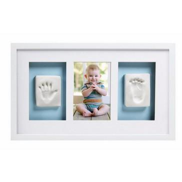 Pearhead - Babyprints Deluxe Wall Frame - White