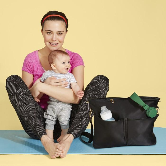 Skip Hop - Black Duet 2-in-1 Nappy Tote
