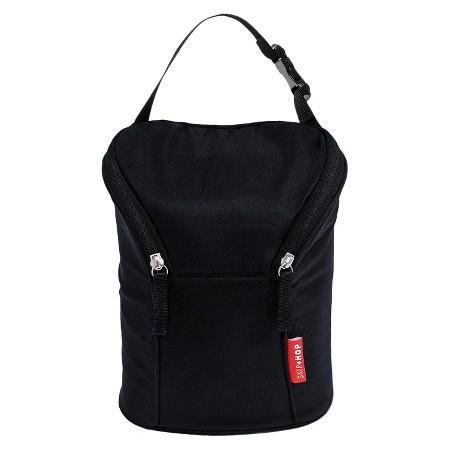 Skip Hop - Black Grab and Go Double Bottle Bag