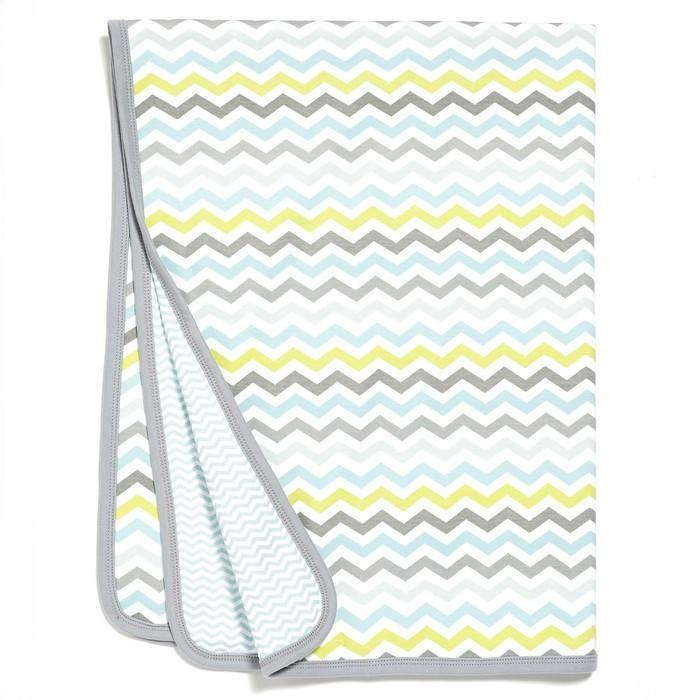 Skip Hop - Blue Starry Chevron Welcome Home Blanket