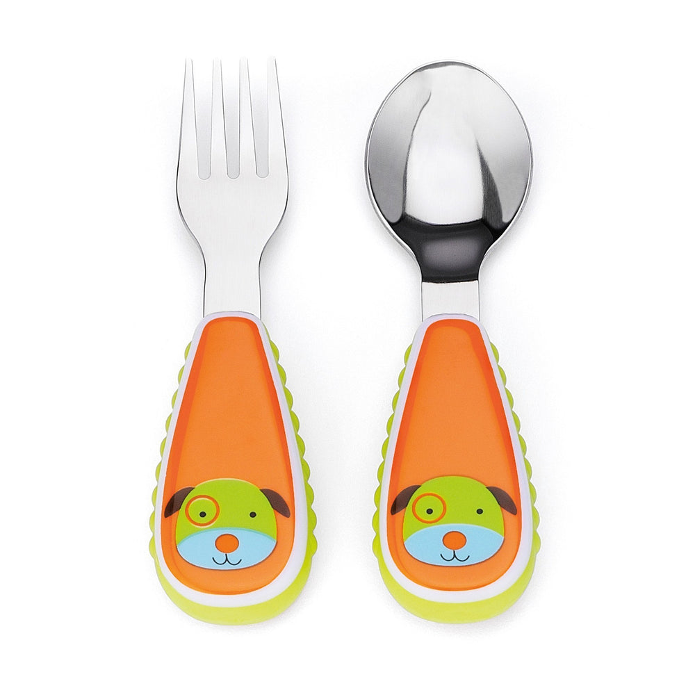 Skip Hop - Dog Zootensils Fork and Spoon Set