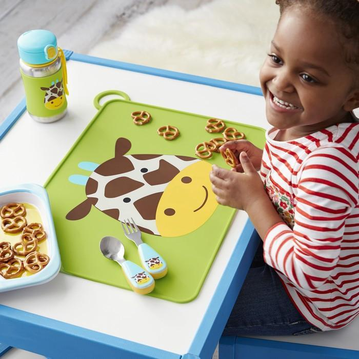 Skip Hop - Giraffe Zootensils Fork and Spoon Set