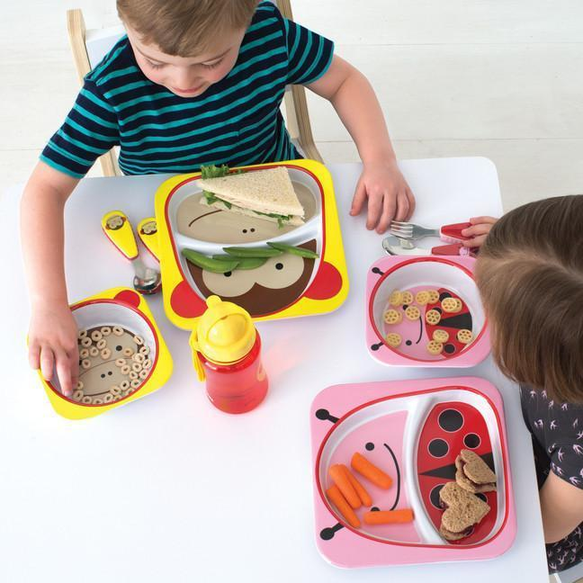 Skip Hop - Ladybug Zootensils Fork and Spoon Set