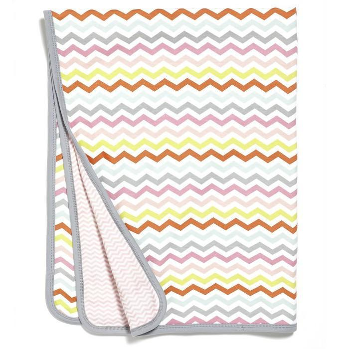 Skip Hop - Pink Starry Chevron Welcome Home Blanket