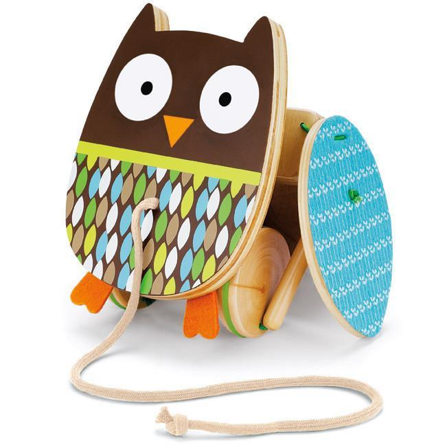 Skip Hop - Treetop Friends Wooden Flapping Owl