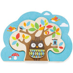 Skip Hop - Treetop Friends Wooden Nesting Puzzle