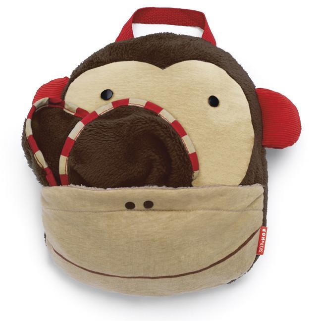 Skip Hop - Zoo Monkey Travel Blanket