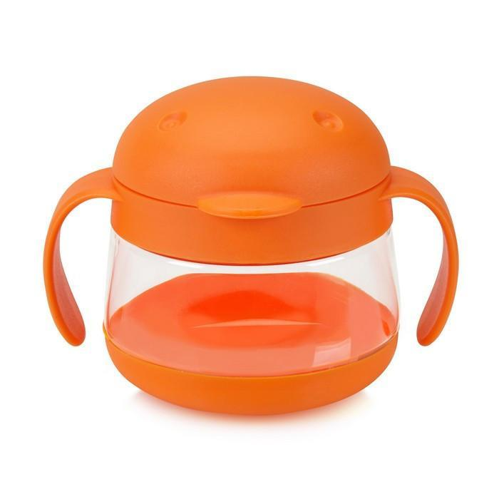 Ubbi - Orange Tweat Snack Container