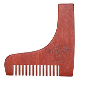 BFWood Wooden Beard Shaping Tool #6017