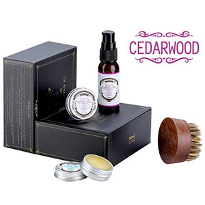 BFWood Beard Conditioner Grooming Kit – Cedarwood #6030