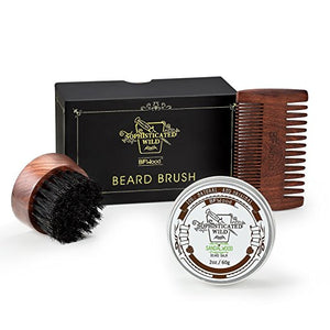 BFWood Beard Brush & Comb Set #6027