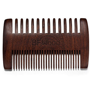 BFWood Pocket Sandalwood Beard Comb #6013