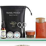 BFWood Grooming Beard Travel Kit – Green Tea #6039