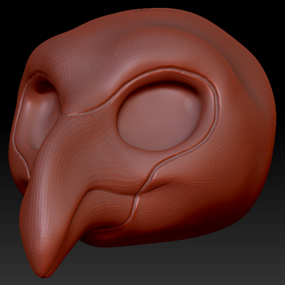 Kemono Flamingo Head Base