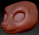 Kemono Hyena Head Base