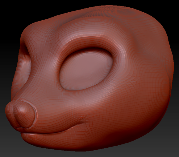 Kemono Opossum Head Base