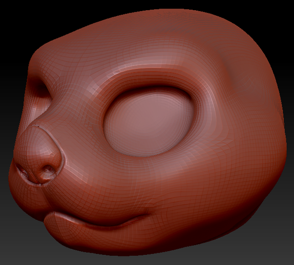 Kemono Sea Otter Head Base Variant 1