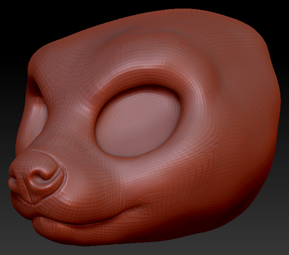 Kemono Fossa Head Base
