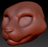 Feminine Tiger Head Base