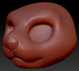 Kemono Sea Otter Head Base