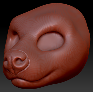Gender Neutral Fossa Head Base