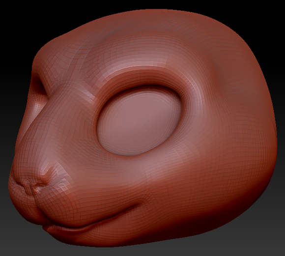 Kemono Guinea Pig Head Base