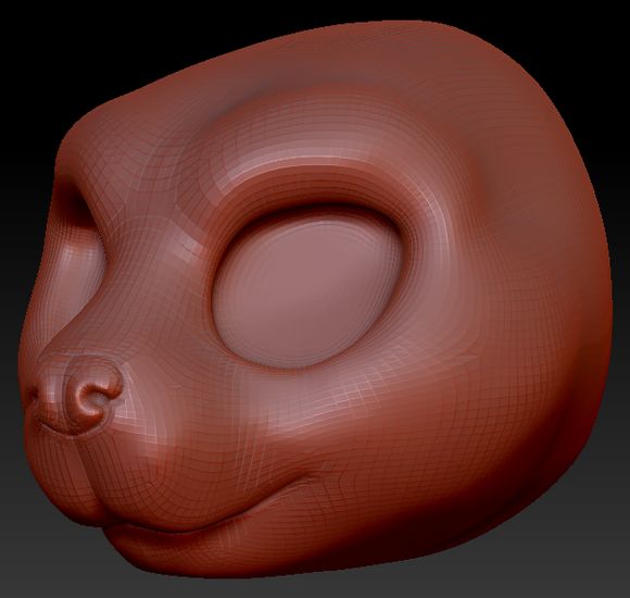 Kemono Beaver Head Base