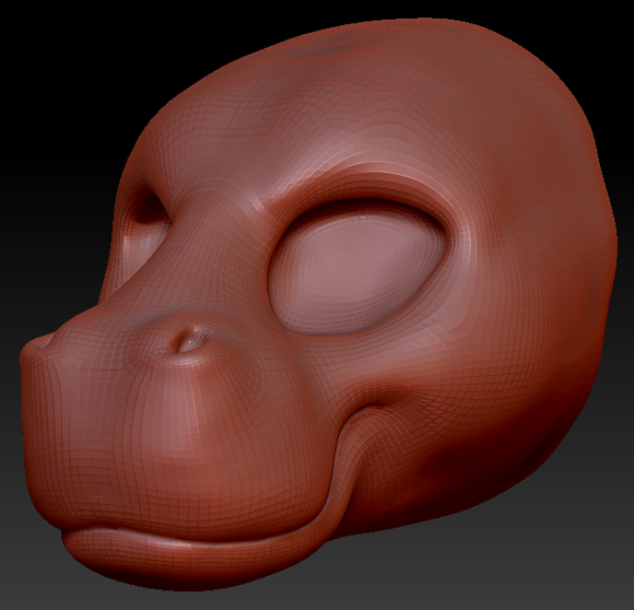 Feminine Hippo Head Base