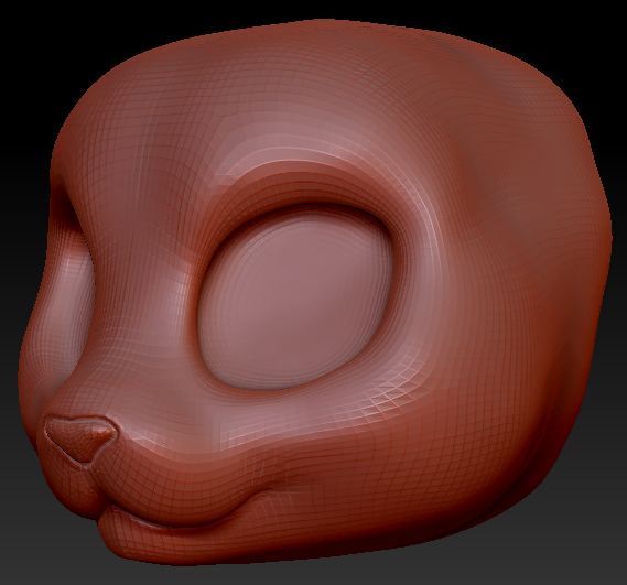 Kemono Feline Head Base Variant 3